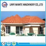 中国の建築材料の石の上塗を施してある金属のローマの屋根瓦