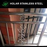 Postes de la barandilla de la escalera del acero inoxidable