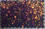 Синтетическая кожа PU яркия блеска для мешка Hw-1706 сандалий ботинок