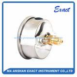 Le support de Mesurer-Panneau de pression d'huile Manomètre-Mesurent avec la bride d'U