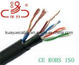 Кабель аудиоего разъема кабеля связи кабеля данным по кабеля силы Cable+4pair Utpcat5e/Computer