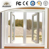 2017 Casement Windowss do baixo custo UPVC