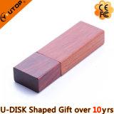 Movimentação de madeira do flash do USB do logotipo feito sob encomenda para os presentes da empresa (YT-8101)