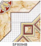 2017 ha lustrato le mattonelle di ceramica del pavimento metallico
