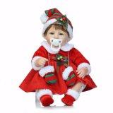 Куклы младенца заново родившийся реалистического силикона куклы рождества 18 дюймов заново родившийся