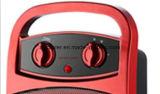 Aquecedor de cerâmica 1500W com aquecedor de ventilação PTC