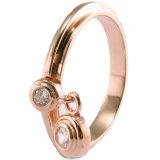 Anelli di modo con il tasto per l'anello femminile caldo dell'argento sterlina dei monili 925 delle donne (R10280)