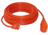 UL-Zustimmung 6-50FT 2 Leiter Sjt Extensions-Energien-Kabel