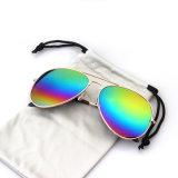 China fabrica óculos de sol polarizados com moldura de metal Ynjn (YJ-0015)
