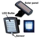 36LED 1.2W 6V que trabaja 8h la lámpara solar IP65 impermeable SL1-1-22