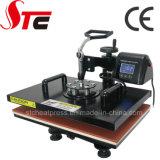 CER genehmigte Schwingen-weg Hauptwärme-Presse-Maschine Simplely, das Hauptwärmeübertragung-Maschinen-manuelle Shirt-Wärme-Drucken-Maschine rüttelt