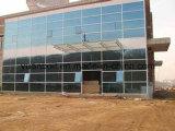 فولاذ - يشكّل فولاذ ورشة ومستودع لأنّ معياريّة فولاذ بناية