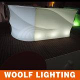 Contador moderno comercial de la barra del club nocturno LED pequeño