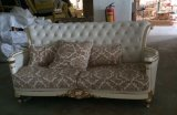 Sofà classico con il sofà del tessuto di alta qualità per la mobilia del salone