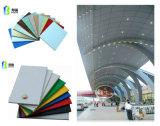 material de la decoración de 4m m 5m m 6m m del panel compuesto de aluminio