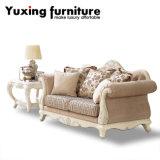 Sofà di legno classico della casa dell'oggetto d'antiquariato dello strato per l'insieme della mobilia del salone