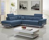 2017心地よいファブリックコーナーL形のソファーのソファセット