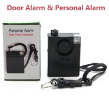 Alta qualità 130dB 2 in 1 allarme personale di anti attacco delle donne con la funzione dell'allarme di portello