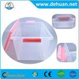 Fornitore della casella di memoria/scomparto/contenitore di plastica multipli con la maniglia per il panno/giocattoli