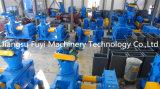 青く大きい肥料の造粒機またはペレタイザー装置かプラントまたは機械