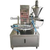 Kのコップのコーヒー満ちるロールフィルムのシーリング機械