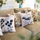 Soft Low Price Almofada de algodão impresso Sofá