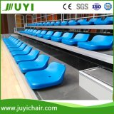 Jy-706 New Popular Best Retractable Indoor Storage Bleacher Seating