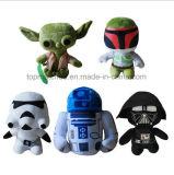 Échantillon gratuit 8 pouces Star Wars Cartoon Peluche jouets pour cadeau promotionnel
