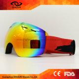 2017 Lunettes de ski de nouvelle conception Double UV400 Anti-Fog Grand masque de ski Lunettes Ski Hommes Femmes Neige Snowboard Goggles