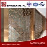 製造業者から直接カスタマイズされた現代部屋の装飾の区分のディバイダスクリーンのステンレス鋼