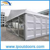 Tente modulaire de chapiteau de mémoire de bâti en aluminium de PVC avec le mur d'ABS