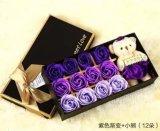 Nueva flor romántica de Rose del jabón de baño de la boda