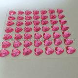стикеры диаманта сердца 8mm акриловые каменные для украшения