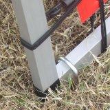 外のFoldableアルミニウム表示旗の立場の広告のボードの立場(SS-AS-02)