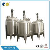 depósito de mistura de líquidos em aço inoxidável de mistura de armazenamento