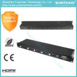 4X4 Switcher van de Matrijs van HDMI met Afstandsbediening