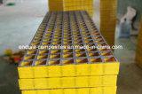Reja industrial antideslizante de la fibra de vidrio