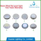 Lampe remplie par résine neuve de piscine d'IP68 DEL