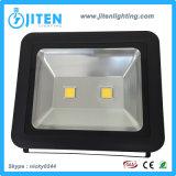 IP65 al aire libre impermeabilizan lámpara de inundación del diseño del reflector de 100W LED la nueva