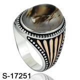 Anello d'argento dei monili 925 di modo del nuovo modello per gli uomini