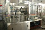 清涼飲料を作る自動炭酸充填機