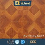 12.3mmのE0 AC4によって浮彫りにされるカシの音-引きつけられる木製の木の積層の床