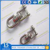 Matériel du calage SS304 ou Ss316 nous type boucle d'élévateur d'émerillon