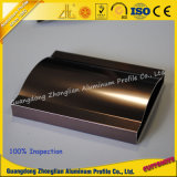 Aluminio en el perfil de aluminio de la protuberancia con la superficie de Poilshing