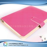 Kundenspezifisches Firmenzeichen A5 PU-Deckel-Tagebuch-Planer-Notizbuch (xc-stn-023b)