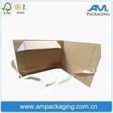결혼식 권유 공상 반환 선물 상자를 위한 도매 실크 리본 상자