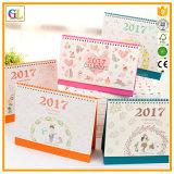 Fördernder Geschenk-Papier-Drucken-Tischkalender (OEM-GL-008)