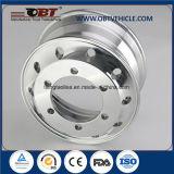 """17.5 """" roues d'alliage d'aluminium de pneu pour des remorques et des camions"""