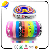 Bracelets colorés populaires de sport de silicones de sort