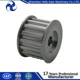 Poulie de courroie d'aluminium en aluminium Poulie CNC type H en acier